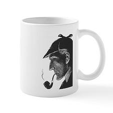 Sherlock Holmes Profile Mug