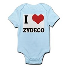 I Love Zydeco Infant Creeper