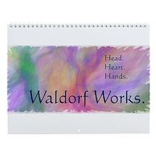 Waldorf Works, Original Art Wall Calendar