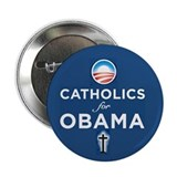 "Catholics for Obama 2.25"" Button (10 pack)"