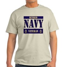 Retired Navy Veteran T-Shirt
