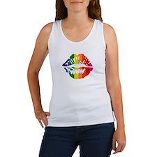 Rainbow Kiss Women's Tank Top