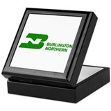 Burlington Northern Keepsake Box