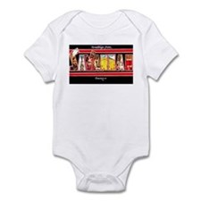 Savannah Georgia Greetings Infant Bodysuit