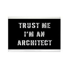 Architect Gift Rectangle Magnet (10 pack)