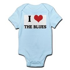 I Love the Blues Infant Creeper