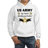 US Army Friend Patriotic Jumper Hoody