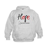 Hope Lung Cancer Hoody