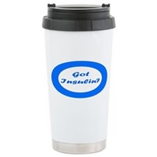Got Insulin Ceramic Travel Mug