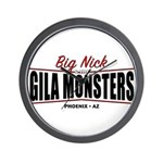 Gila Monsters Wall Clock