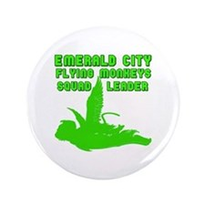 "emerald city monkeys 3.5"" Button"