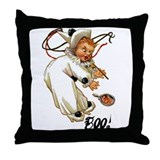 Halloween Clown Big 18x18 Throw Pillow