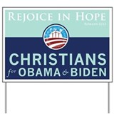 Christians for Obama Yard Sign