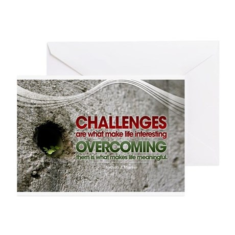 Inspirational Quotes on Greeting Cards (Pk of 10)