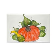 Pumpkin Patch Rectangle Magnet