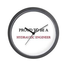 Proud to be a Hydraulic Engineer Wall Clock