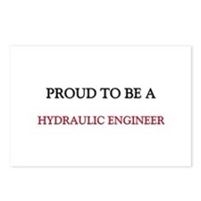 Proud to be a Hydraulic Engineer Postcards (Packag