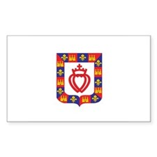 vendee Rectangle Sticker 10 pk)