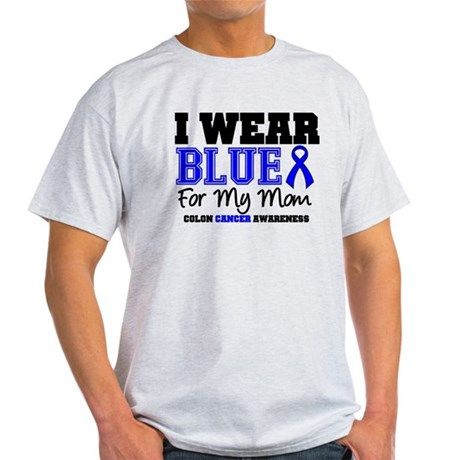 I Wear Blue Mom Light T-Shirt