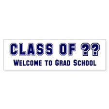 """Class of ?? Welcome..."" Bumper Sticker (10 pk)"