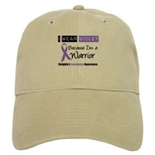 I Wear Violet Ribbon Baseball Cap