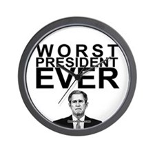 """Worst President Ever"" Wall Clock"