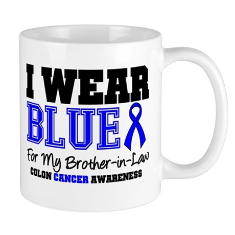 IWearBlue Brother-in-Law Mug