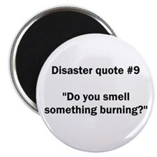 Disaster quote #9 - Magnet