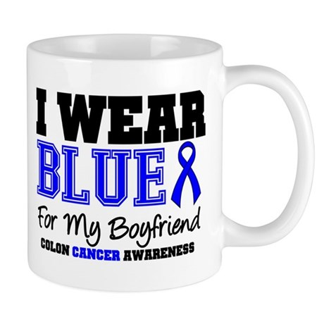 I Wear Blue Boyfriend Mug