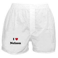 I love Nelson Boxer Shorts