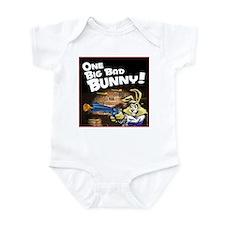 One Big Bad Bunny Infant Bodysuit