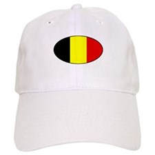 Oval Belgian Flag Baseball Cap