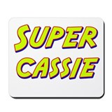 Super cassie Mousepad