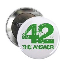 "The Answer Is 42 2.25"" Button (10 pack)"