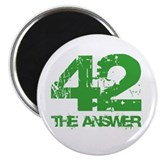 "The Answer Is 42 2.25"" Magnet (10 pack)"