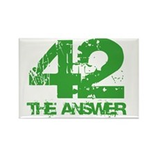 The Answer Is 42 Rectangle Magnet (10 pack)