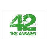 The Answer Is 42 Postcards (Package of 8)