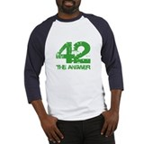 The Answer Is 42 Baseball Jersey