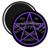 Purple Pentagram Board Magnet
