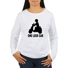 One less car motor scooter T-Shirt
