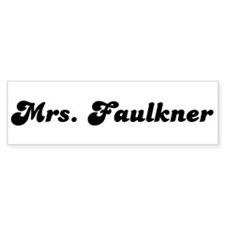 Mrs. Faulkner Bumper Sticker (50 pk)