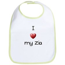 I Love my Zia Bib
