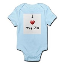 I Love my Zia Infant Bodysuit