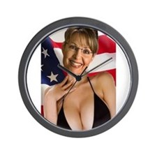 Unique Sarah palin is a Wall Clock