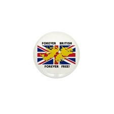 Falkland islands Mini Button