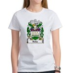 Valla Family Crest Women's T-Shirt