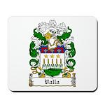 Valla Family Crest Mousepad