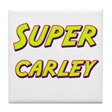 Super carley Tile Coaster