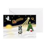 Night Flight/Catahoula Greeting Cards (Pk of 10)