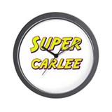 Super carlee Wall Clock
